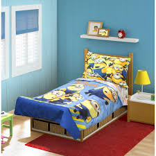 me minions mishap 4 pc toddler bedding set