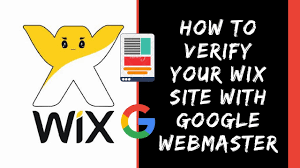 webmaster how to verify your wix website with google webmaster seo youtube