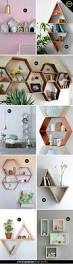 Bedroom Wall Shelf Decor Best 20 Geometric Shelves Ideas On Pinterest Wall Shelf Decor