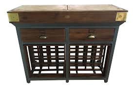 kitchen island with drawers williams sonoma french chef kitchen island with drawers and wine