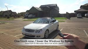 mods4cars smarttop for mercedes benz clk a209 one touch top open