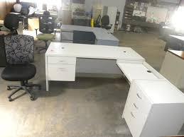 L Shaped White Desk L Desk White For Your Home Office Brubaker Desk Ideas