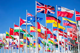 Flags Of All Nations Cochrane Global Ageing Makes A Statement At The World Health