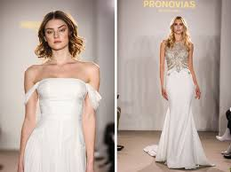 Pronovias Wedding Dresses Pronovias Presents The Stunning 2018 Preview Collections Green