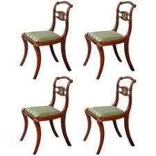 Antique Regency Dining Chairs Antique Set Of Four Regency Circa 1825 Rosewood Dining Chairs For