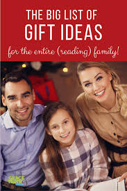 the big list of gift ideas for the entire family gift guides for