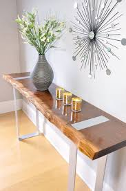 Metal Entry Table 20 Entry Table Ideas That Make A Stylish Impression
