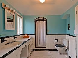 Black And White Checkered Tile Bathroom Ceramic Tile Bathroom Black White Black And White Tile