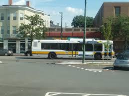 Boston Mbta Bus Map by Miles On The Mbta 554 Waverley Square Downtown Boston Via
