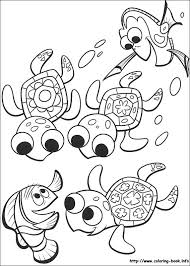 Finding Nemo Coloring Pages On Coloring Book Info Nemo Color Pages