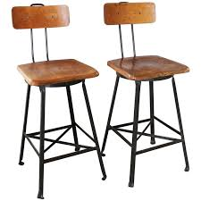 industrial metal bar stools with backs bar stools with a back extraordinary nice black leather bar stools
