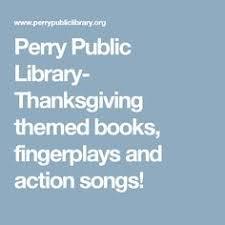 preschool thanksgiving songs and movement