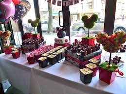 Candy Topiary Centerpieces - 33 minnie mouse themed candy buffet ideas