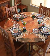 Mexican Dining Room Furniture by Rustic Furniture Mexican Furniture Talavera Tile Folk Art