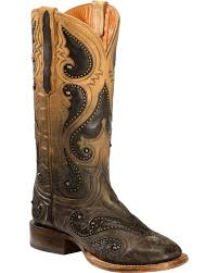 light colored cowgirl boots lucchese handmade pearl ombre rita cowgirl boots square toe