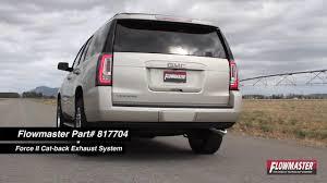 gmc yukon back 2015 2016 chevy gmc tahoe yukon performance exhaust system kit