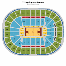 Td Garden Layout Boston Garden Seating Map Www Napma Net