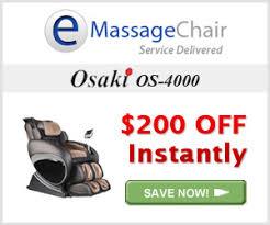 Osaki 4000 Massage Chair Osaki Os 4000 Review Massage Chair Reviews