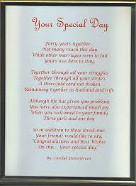 40th wedding anniversary gifts for parents best 25 ruby wedding anniversary gifts ideas on ruby