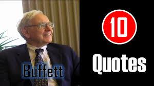 quote from warren buffett 10 quotes warren buffett never lose money youtube