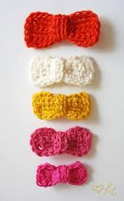 crochet hair bows best 25 crochet hair bows ideas on crochet bows