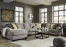 Gray Microfiber Sectional Sofa Microfiber Sectional Sofas Loveseats Chaises Ebay