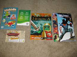 sales post 4 comic con swag promo items and magazines conkwe