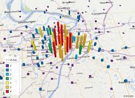 kansas city metro map a better alternative to most dangerous cities ranking st louis