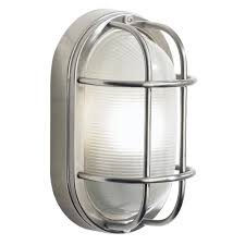 Stainless Steel Outdoor Lighting Salcombe Stainless Steel Ip44 Garden Wall Light