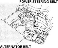 2005 honda odyssey serpentine belt repair guides routine maintenance and tune up belts autozone com