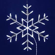 vickerman 16 snowflake wire silhouette with 35 led lights target