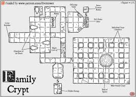 L Tower Floor Plans Map 82 Family Crypt Elven Tower