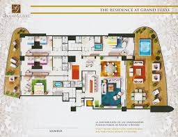Dual Master Bedroom Floor Plans by Floor Plans Grand Luxxe Residence
