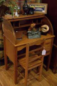 Roll Top Antique Desk Child U0027s Roll Top Desk Antiques And Uniques In Palm Harbor