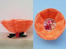 riciclare bicchieri di plastica tutorial cestino con un bicchiere