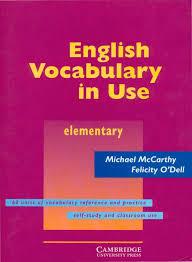 cambridge university press english vocabulary in use elementary