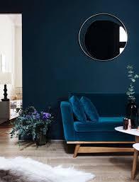 blue velvet sofa russcarnahan com