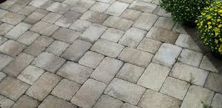 Thin Patio Pavers How To Install Pavers A Concrete Patio Without Mortar