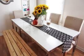 modern diy table runner ideas