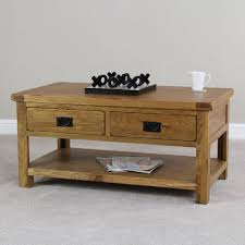 rustic oak coffee table 30 best collection of rustic coffee table drawers