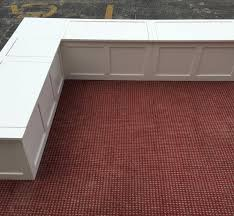 Bench Material Banquette Corner Bench Seat With Storage