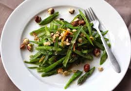incredibly edible incredibly edible green bean snap pea salad with orange