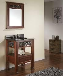 Open Shelf Bathroom Vanities Petite Open Shelf Bathroom Vanities For A Small Bathroom