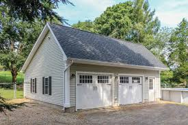 24x36 Garage Plans by Woodstock Saltbox Style One Story Garage The Barn Yard U0026 Great