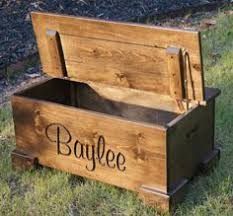 Build A Wooden Toy Box by Personalized Bench Toy Chest Furniture And Home Pinterest