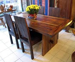 reclaimed teak dining room table 6 x 3 dining table reclaimed teak dining table with trestle between