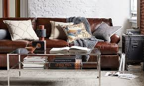 How To Clean A Leather Sofa How To Clean Leather Furniture Pottery Barn