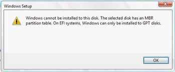 cannot format gpt drive how to convert mbr to gpt during windows installation easeus