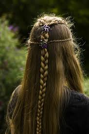 Frisuren Lange Haare Haarspangen by 1001 Ideen Für Mittelalterliche Frisuren Zum Nachmachen