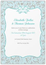 informal wedding invitations informal wedding invitation wording from and groom